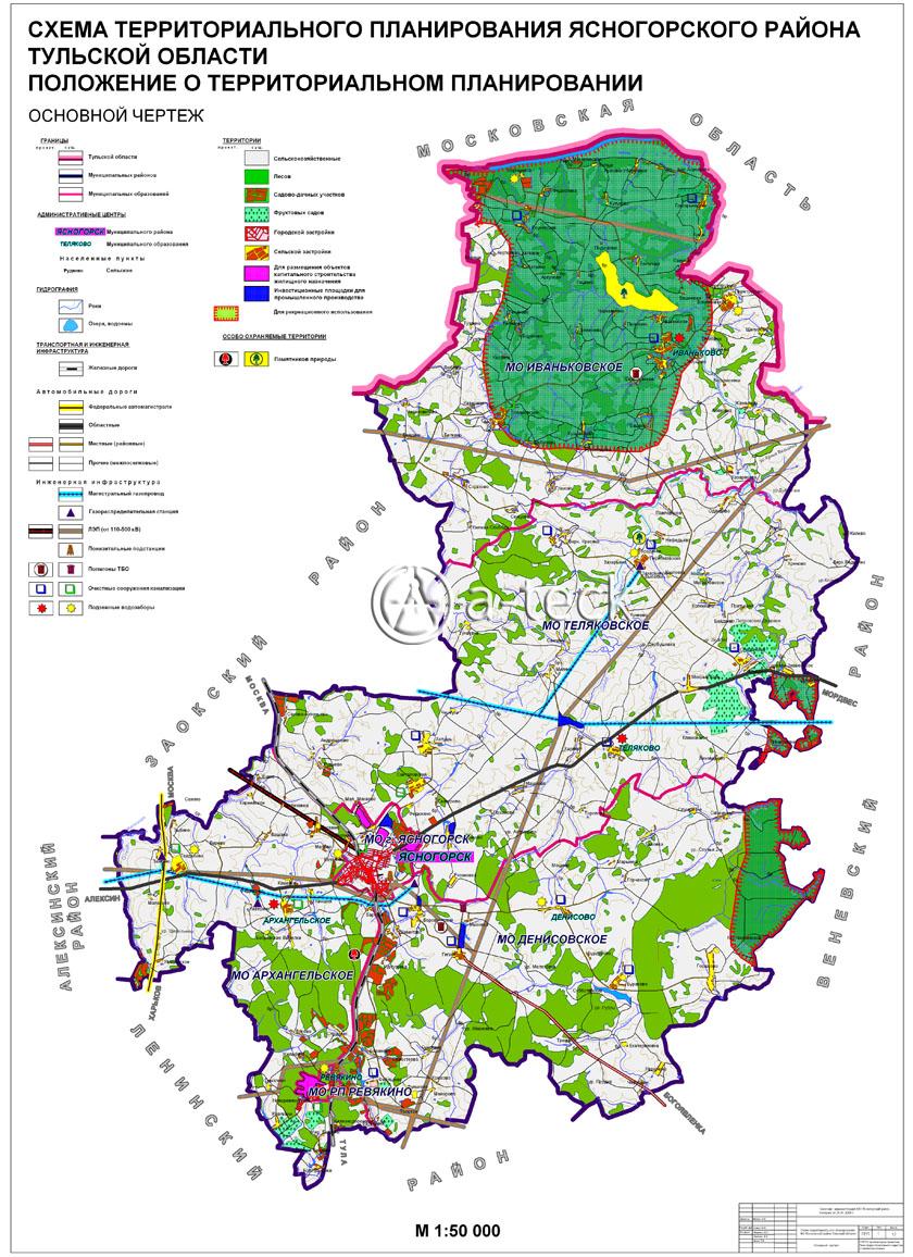 Решение схема территориального планирования района